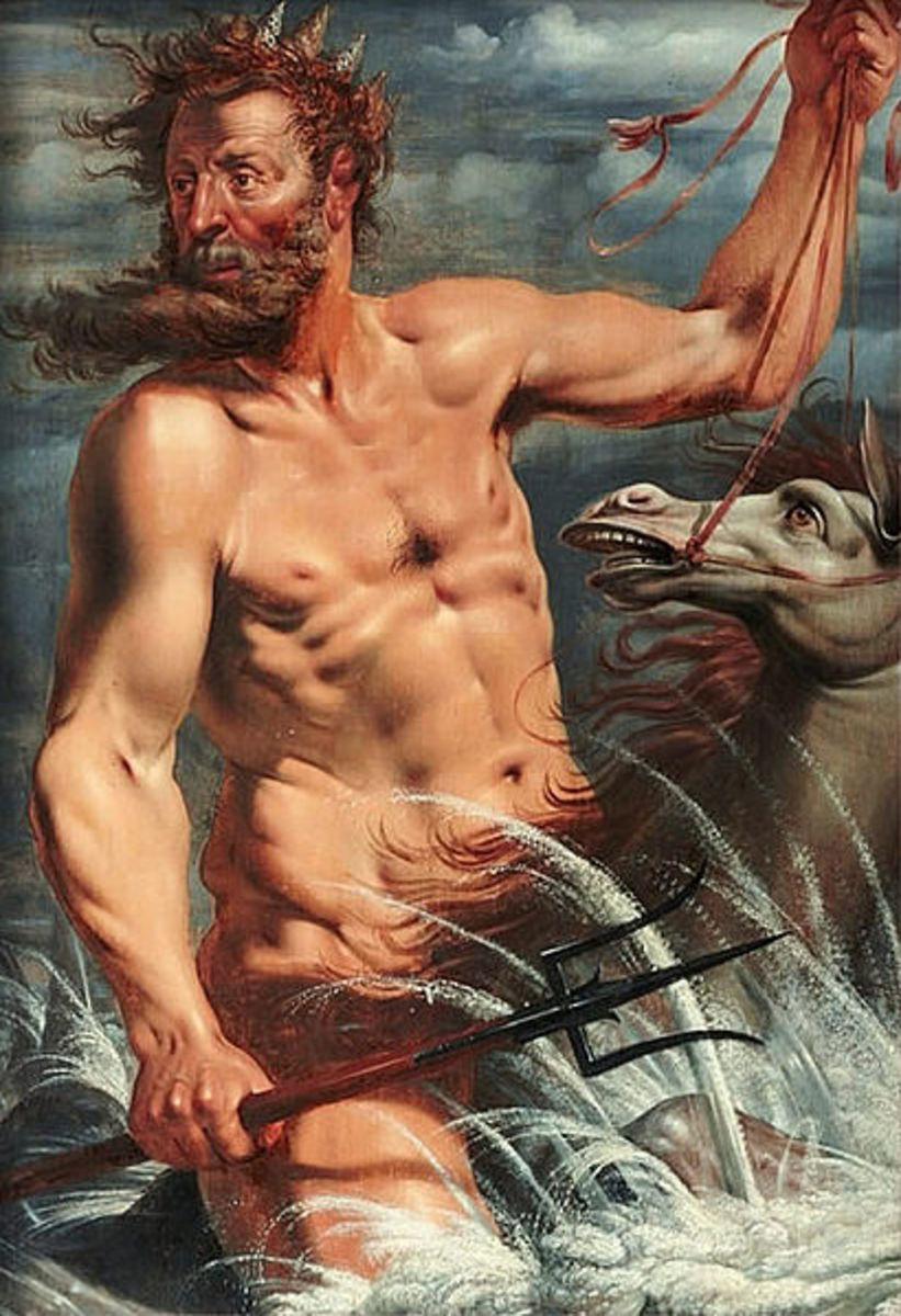 Neptune by Werner van den Valckert