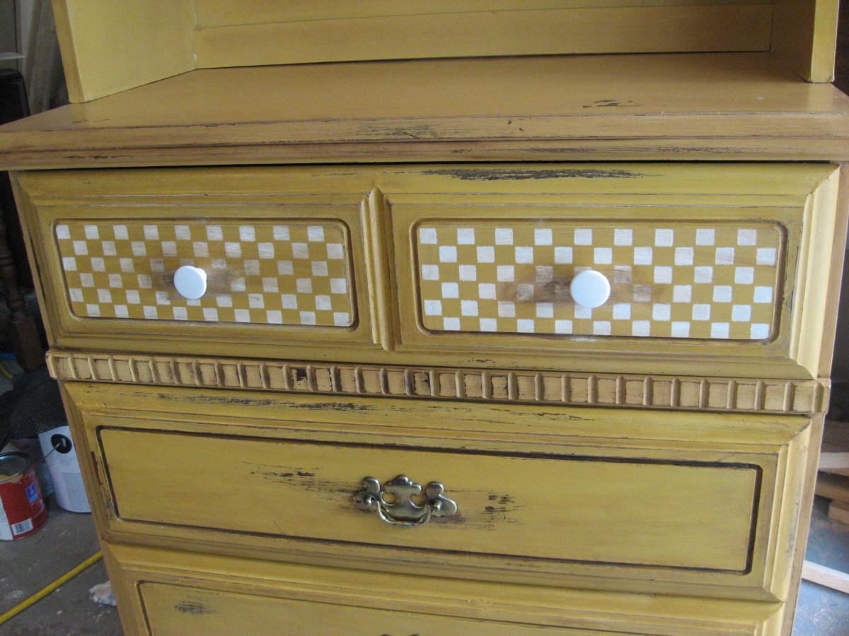 Vintage Dish Dresser
