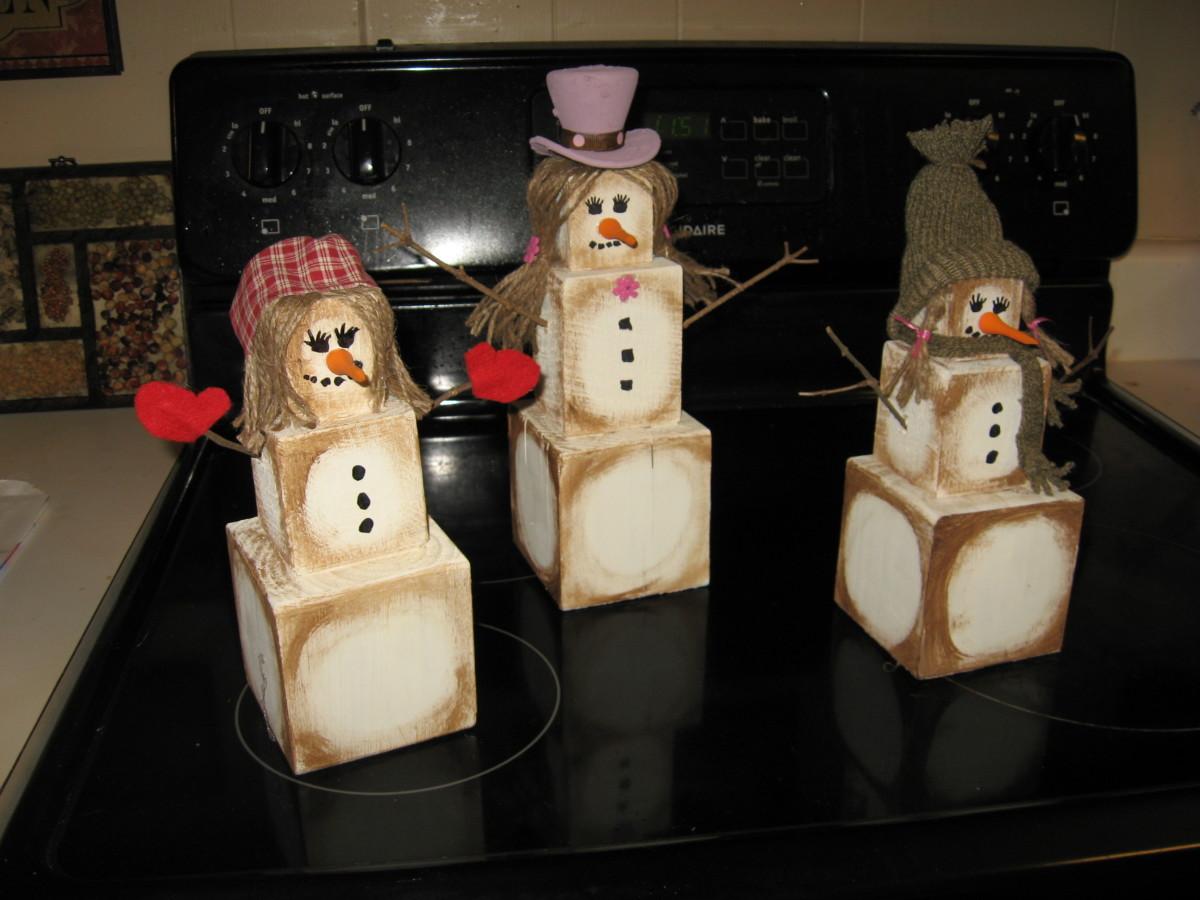 Primitive Snowgirls