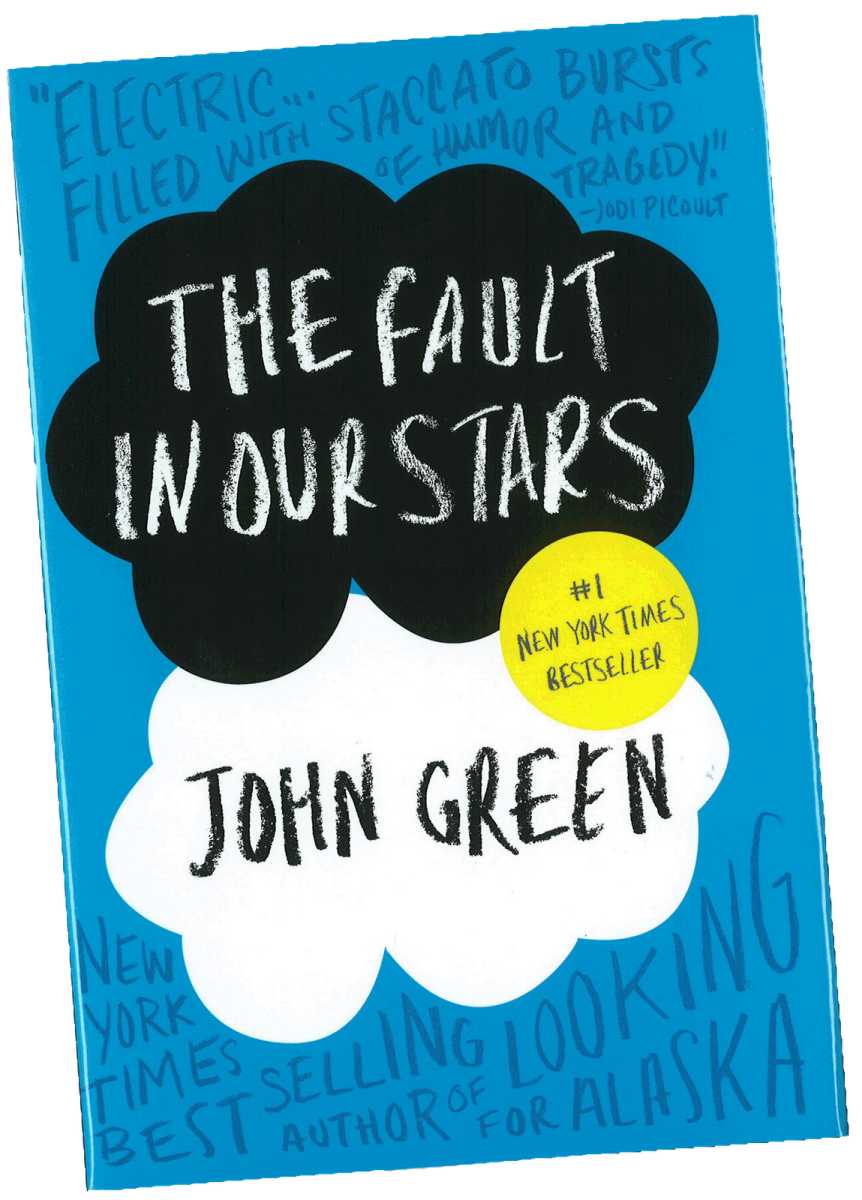 Cover of The Fault in Our Stars novel by John Green