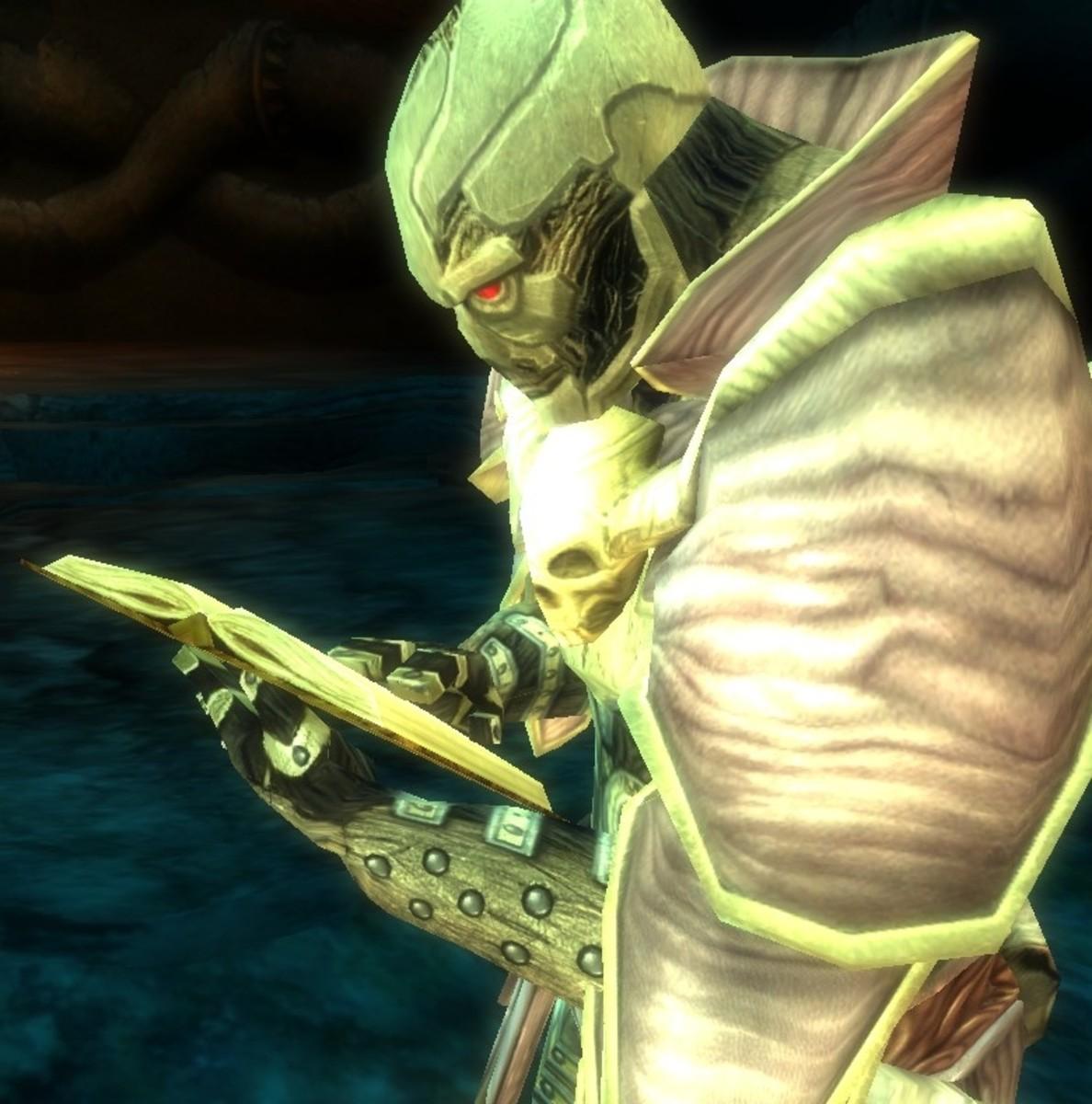 Warforged sorceror.
