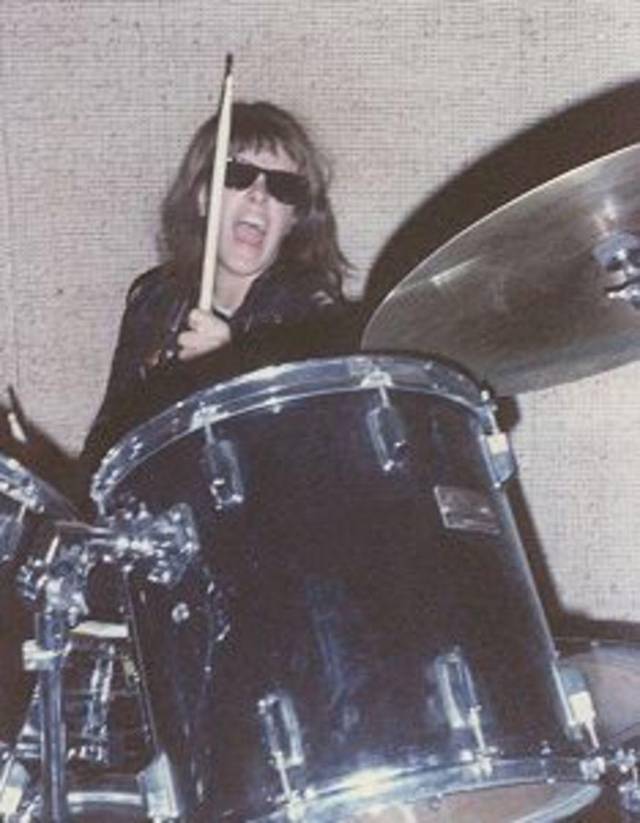 Aerosmith's Joey Kramer was a major influence on my playing style.
