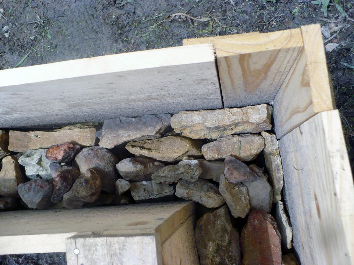 Adding the stones