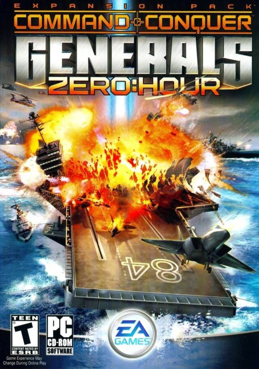 Command & Conquer Generals: Zero Hour Expansion pack
