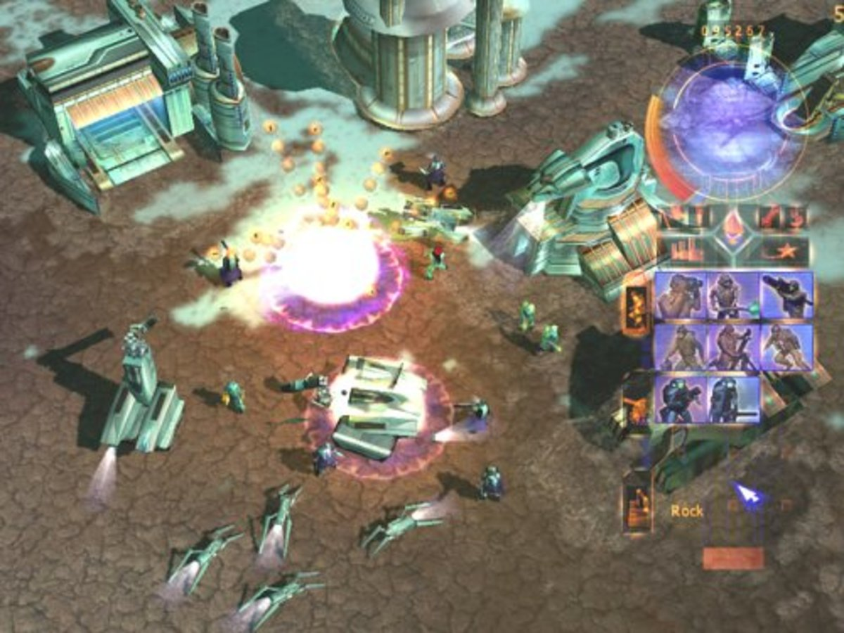 A Battle near a base of House Ordos