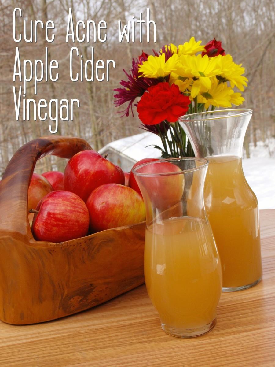 Get healthy, beautiful skin with apple cider vinegar.
