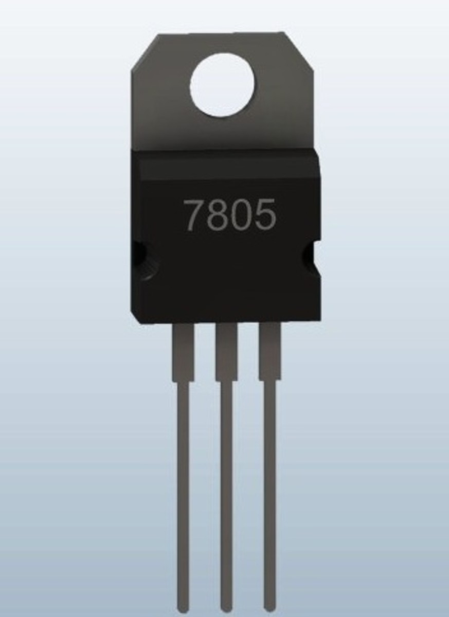 IC 7805  Voltage Regulator