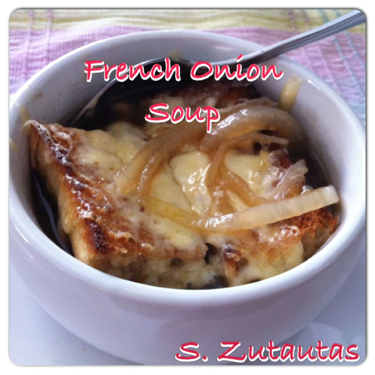 French Onion Soup With Gouda