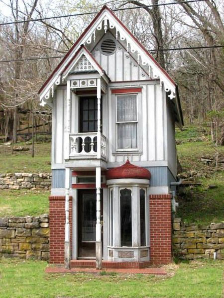 Located in Eureka Springs, Arkansas.