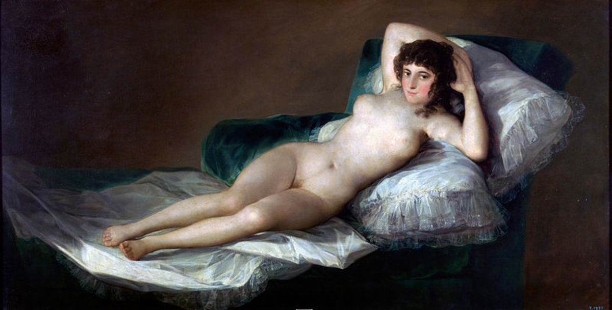 Francisco Goya, Nude Maja (a. 1800), Madrid Prado Museum