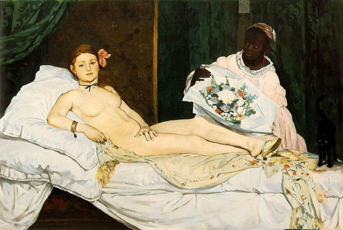 Edouard Manet, Olympia (1863), Paris Orsay Museum