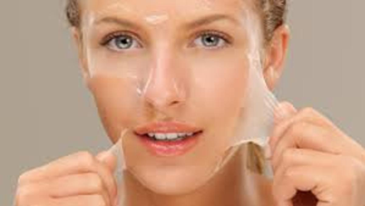 This picture is from an article about skin and anti-aging using exfoliation.