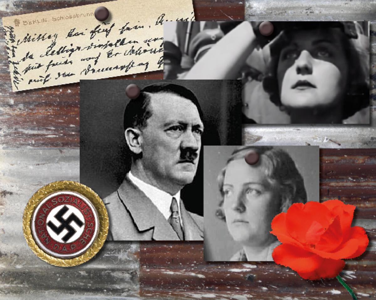 Hitler and Unity Mitford's Illegitimate Child