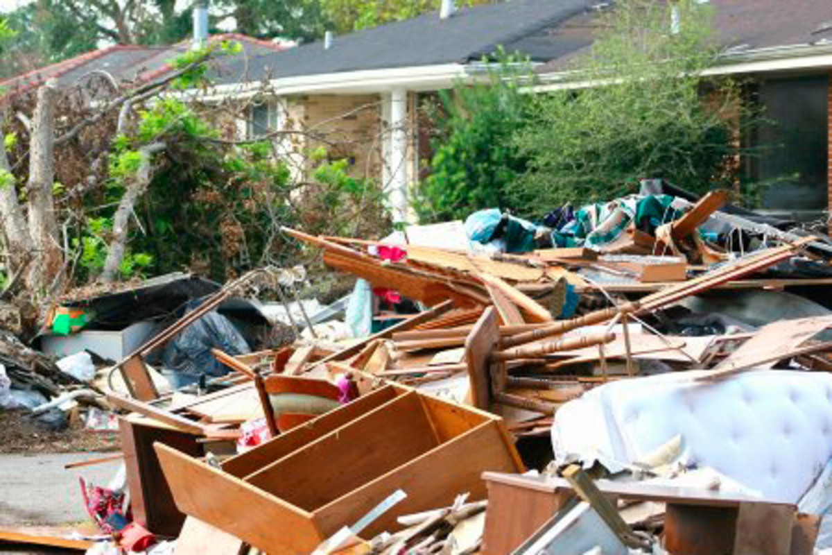 Over the years, a half-finished construction project can turn into an enormous mess.