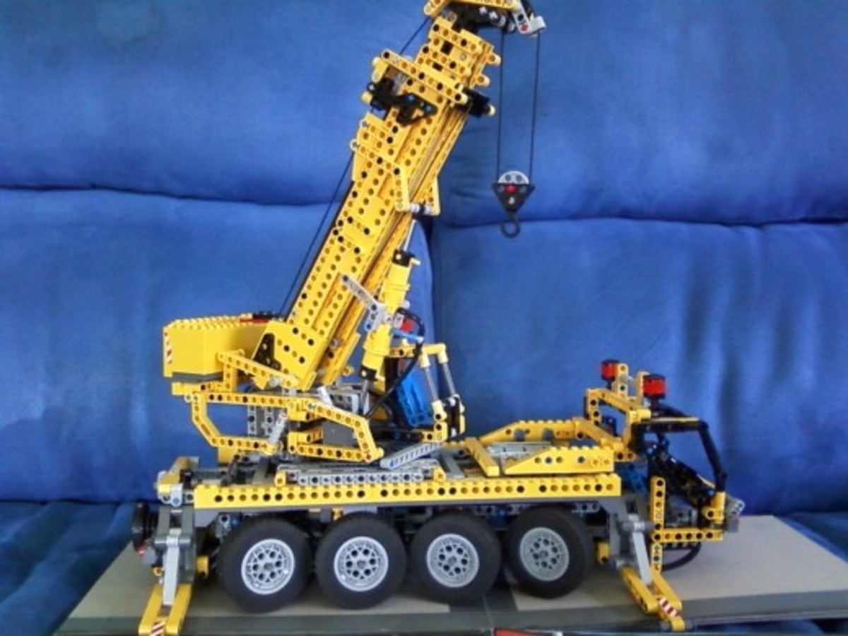 Technic lego is fun for father and son and a great way for kids to express their creativity