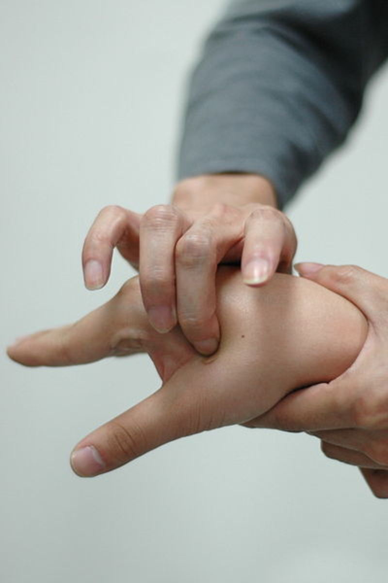 Your Hands Have Lots Of Acupressure Points For Relief From Backaches, Etc.