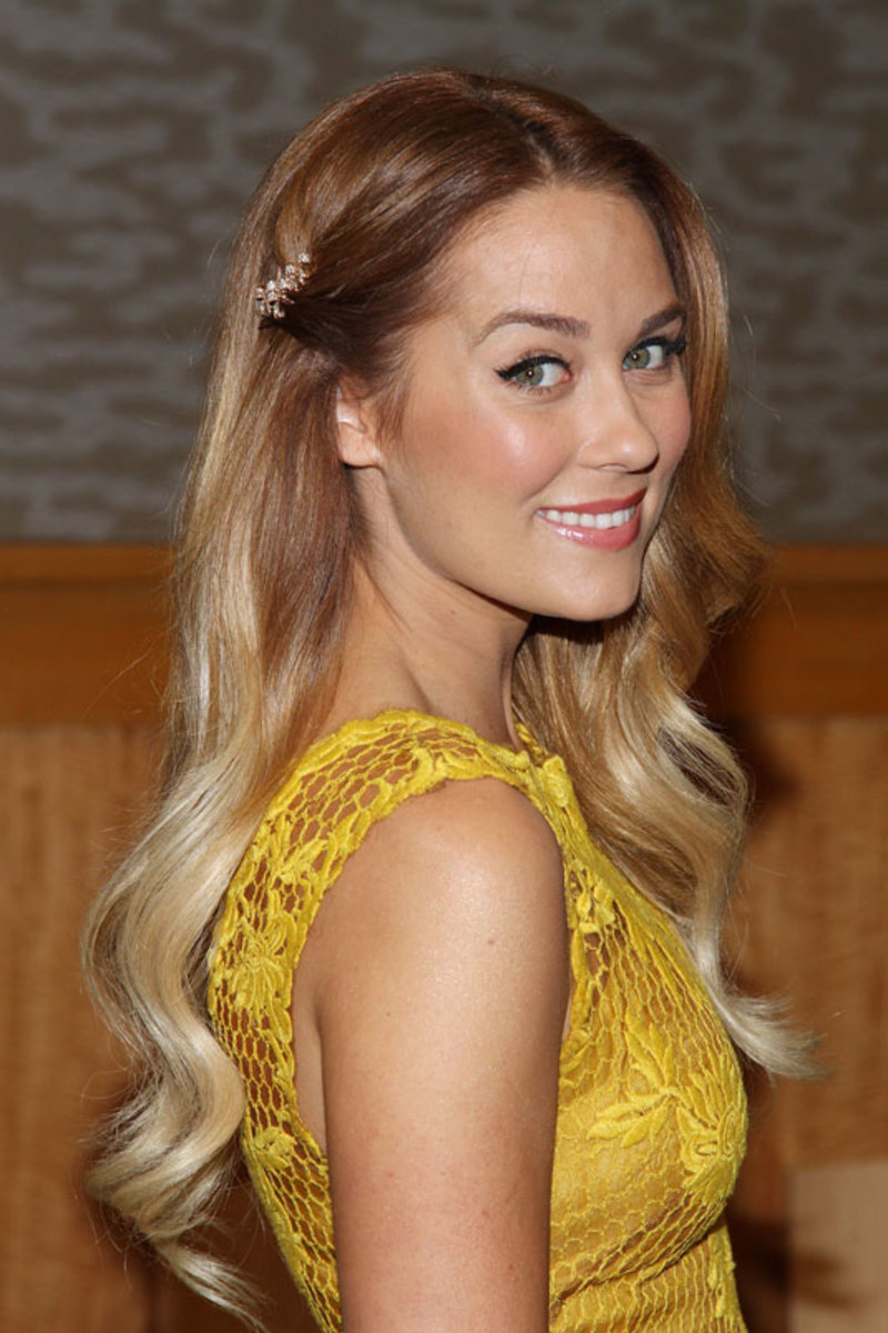 Lauren Conrad with ombre hair.