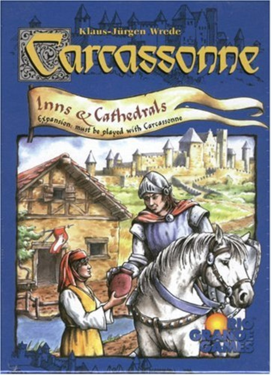 Carcassonne Expansion - Inns & Cathedrals