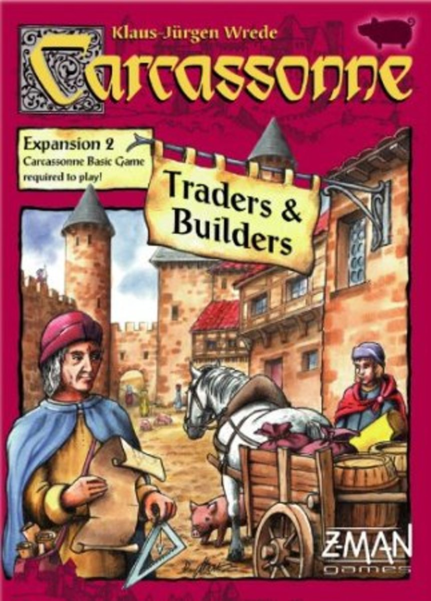 Carcassonne Expansion - Traders & Builders