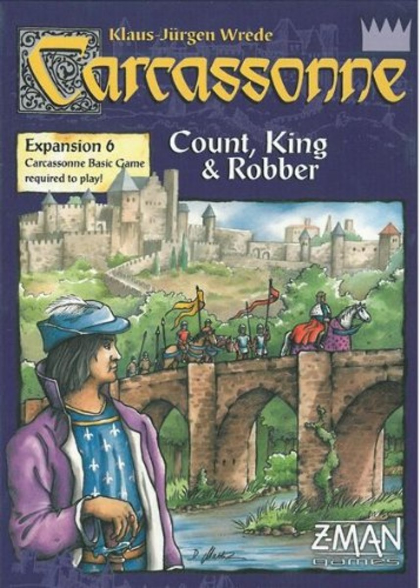 Carcassonne Expansion - Count, King & Robber