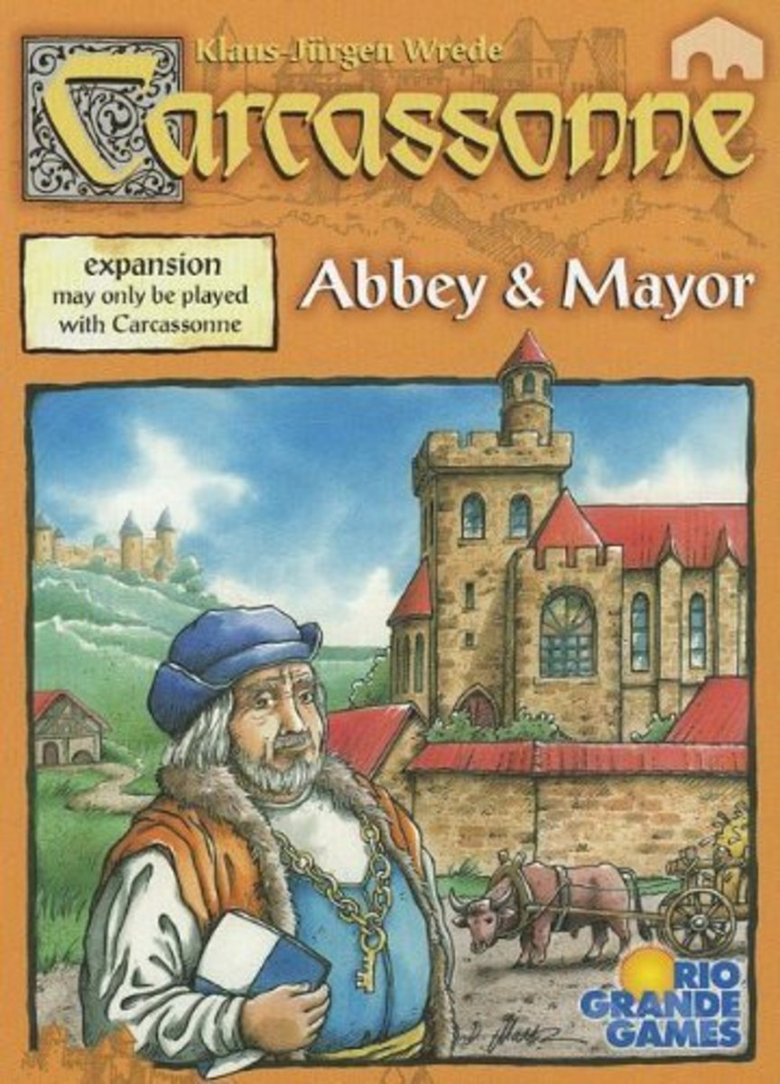Carcassonne Expansion - Abbey & Mayor