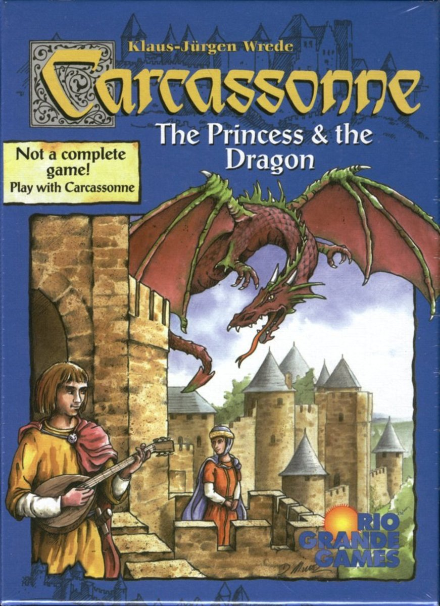 Carcassonne Expansion - Princess & Dragon