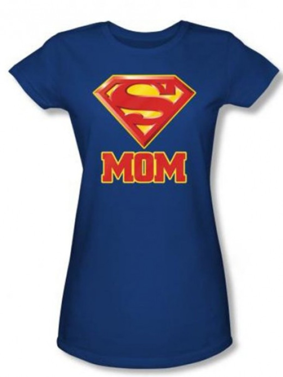Super Mom Mother's Day T Shirt