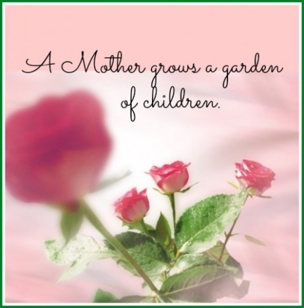 Mother's Day Saying