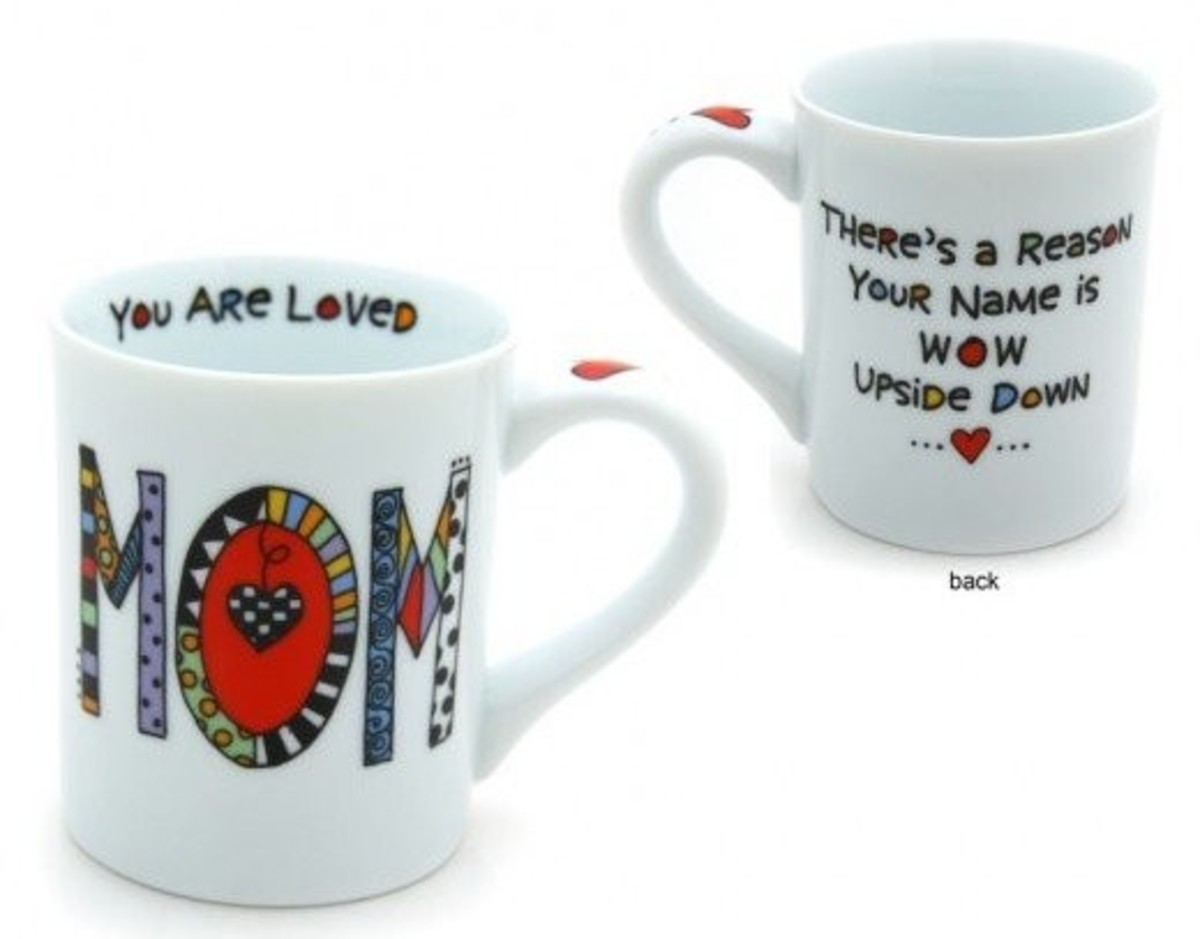 Mother's Day Saying on a Coffee Mug