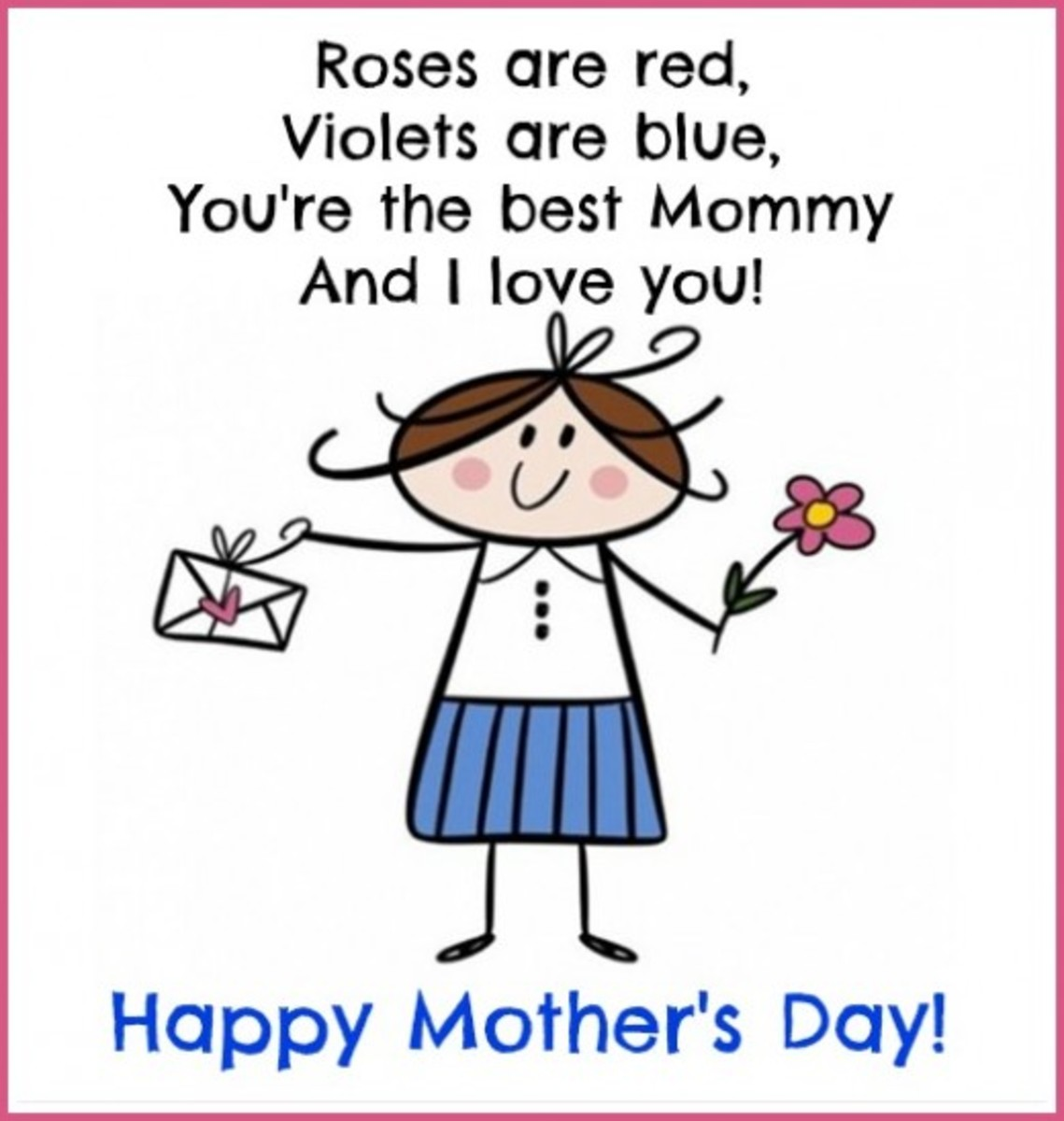 Mother's Day Poem on a Card