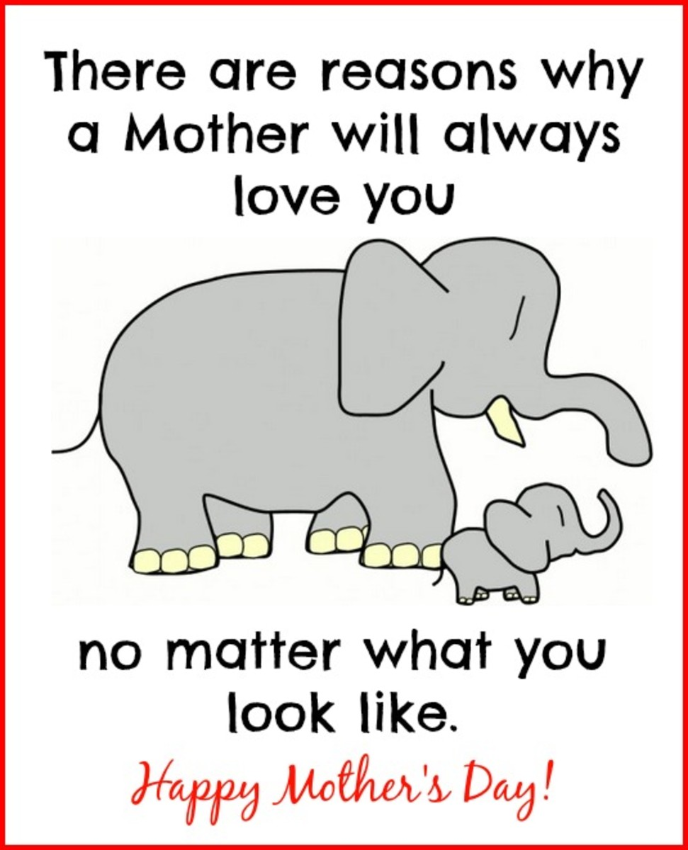 Funny Mother's Day Card from People Who Look Like Their Moms