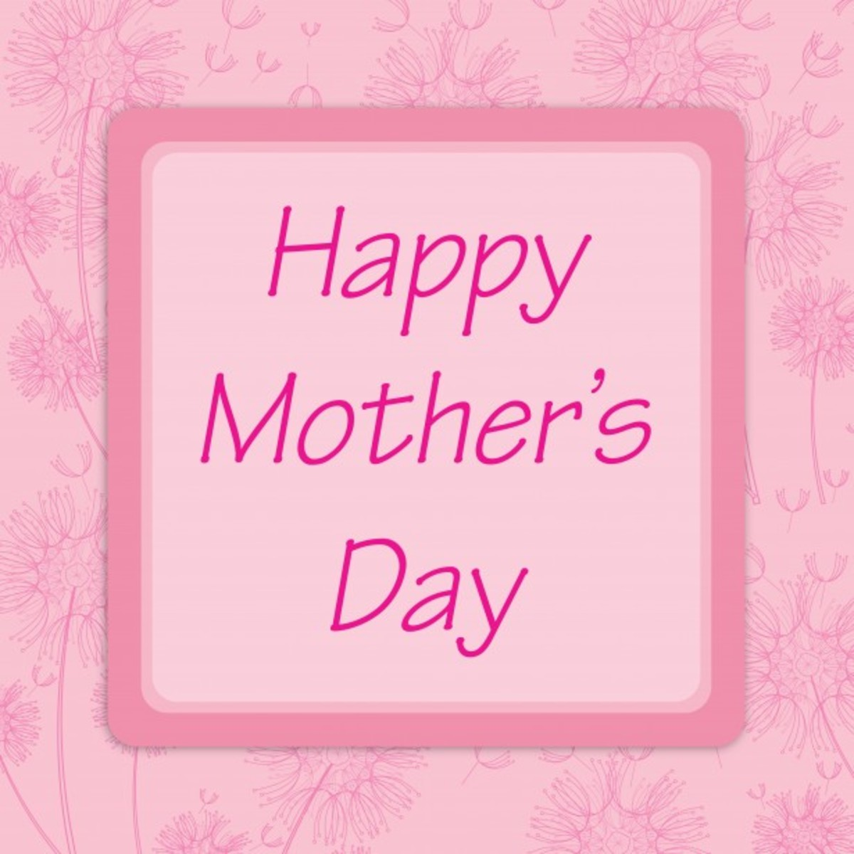 100 MOTHER'S DAY CARDS and Pictures