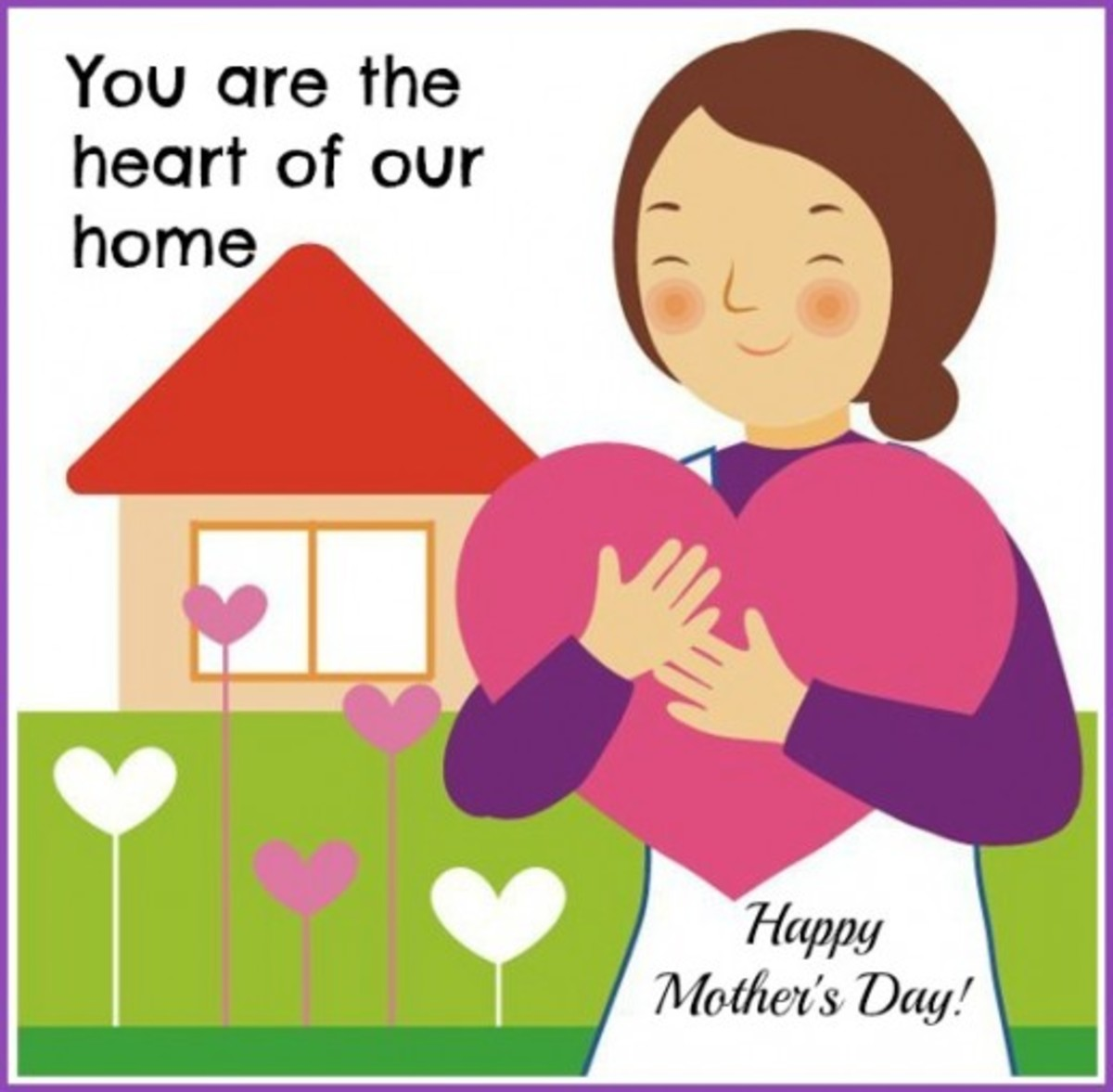 Mother as Heart of the Home Picture