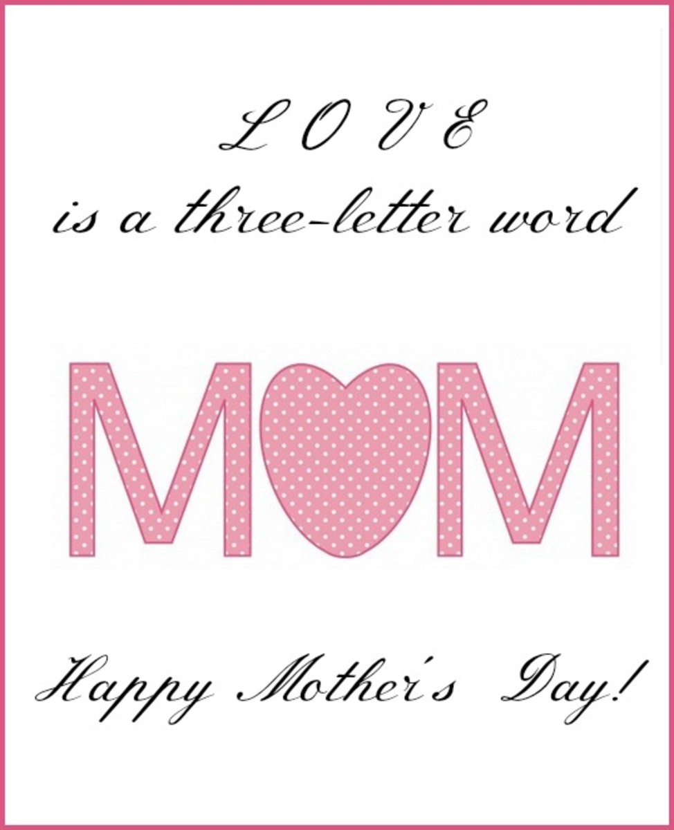 Mother's Day Saying for Mom