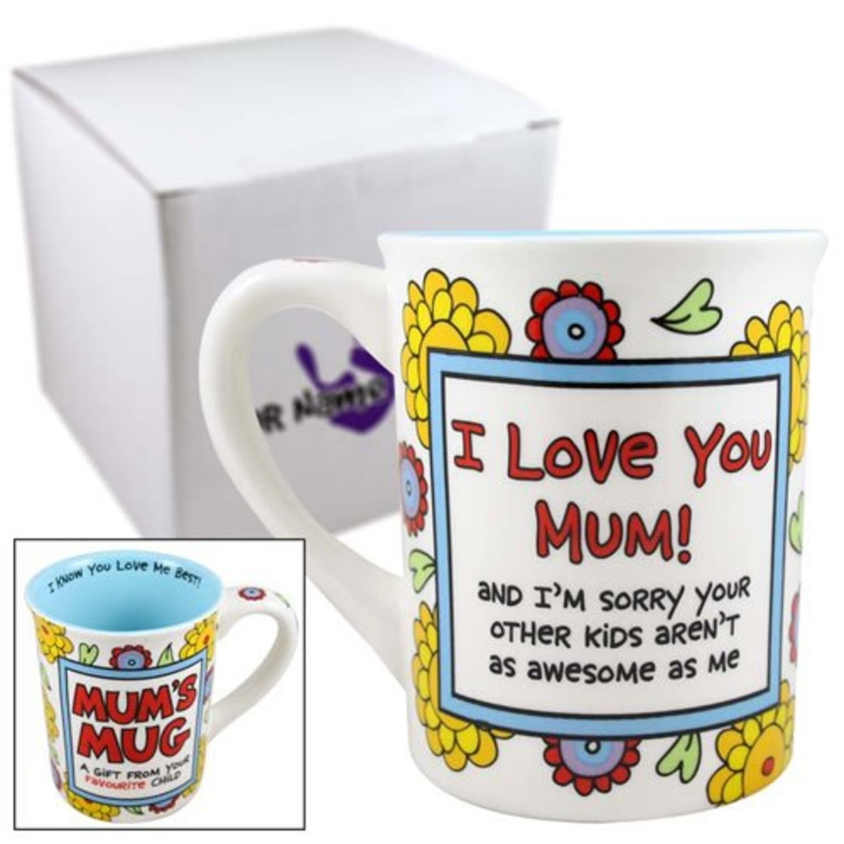 Great Joke on a Mug for Mothers with More Than One Child