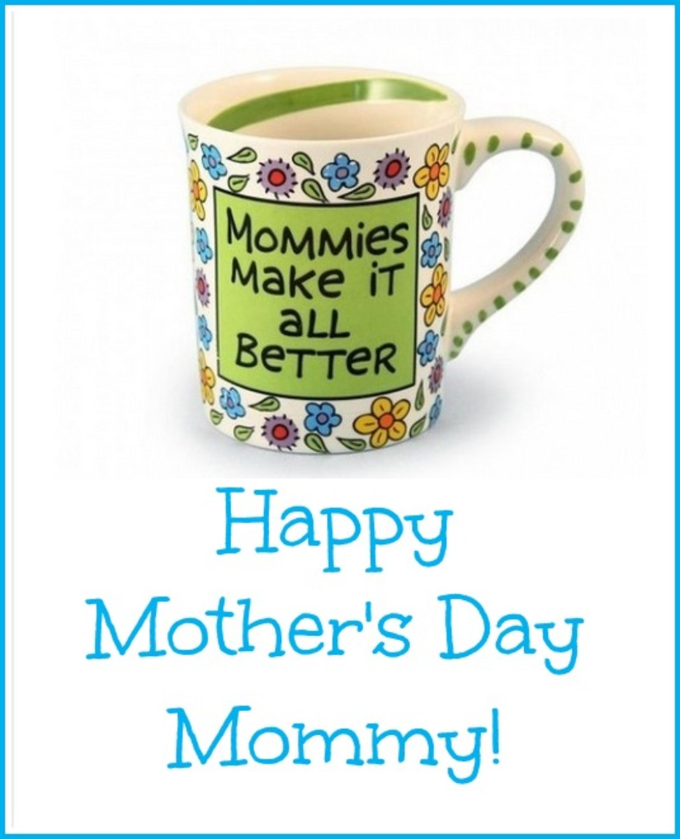 Mommy Coffee Mug on Card