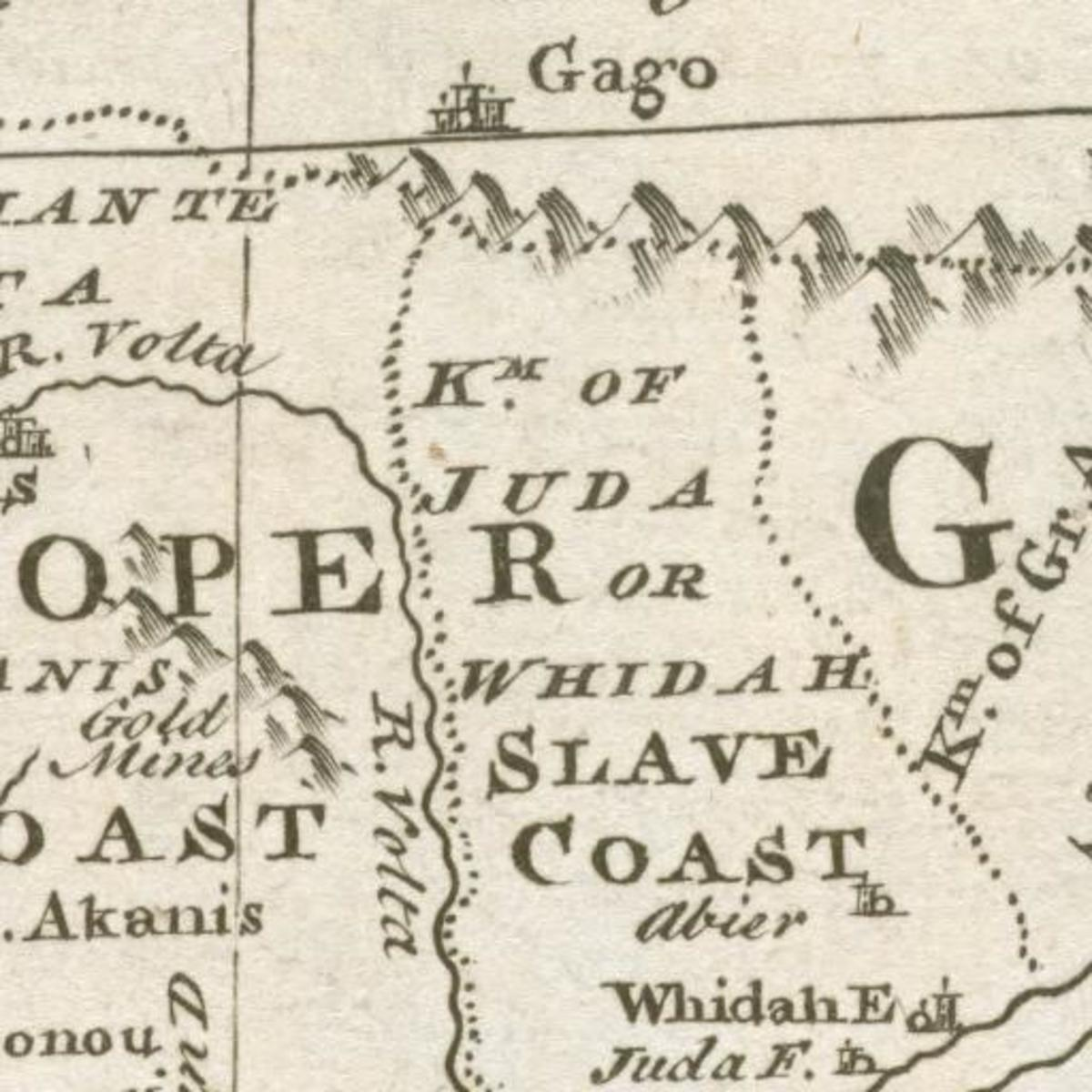 The Kingdom of Juda renamed the Slave Coast