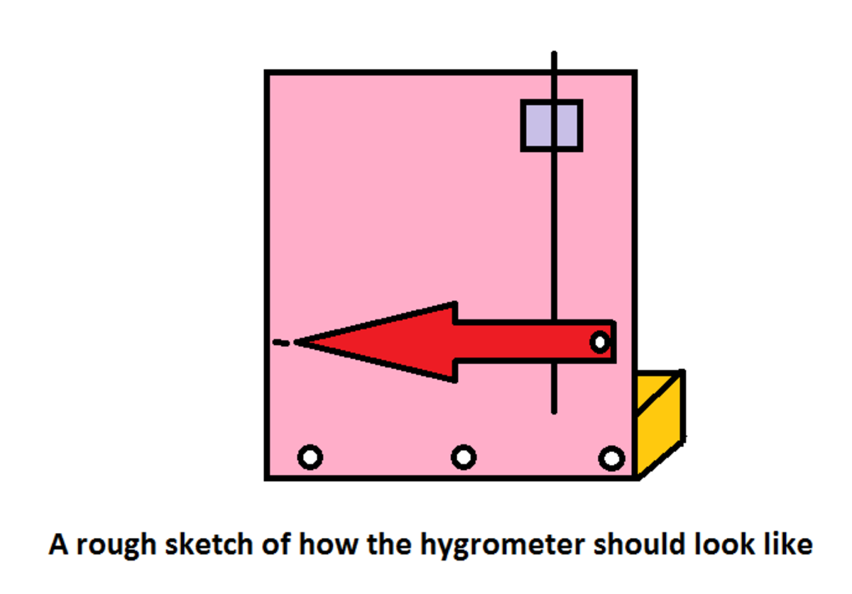 Making your own simple hygrometer - Science experiment for kids