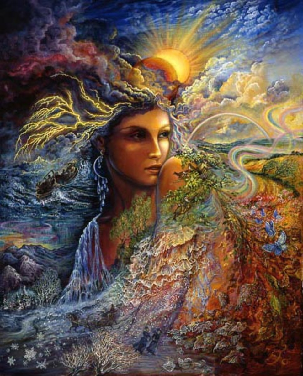 Spirit of the Elements by Josephine Wall