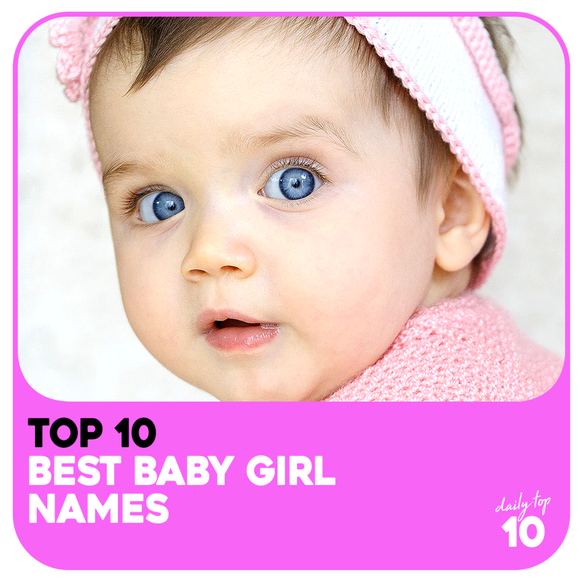 Top 10 Best Baby Girl Names From Famous Celebrities (With Pictures)