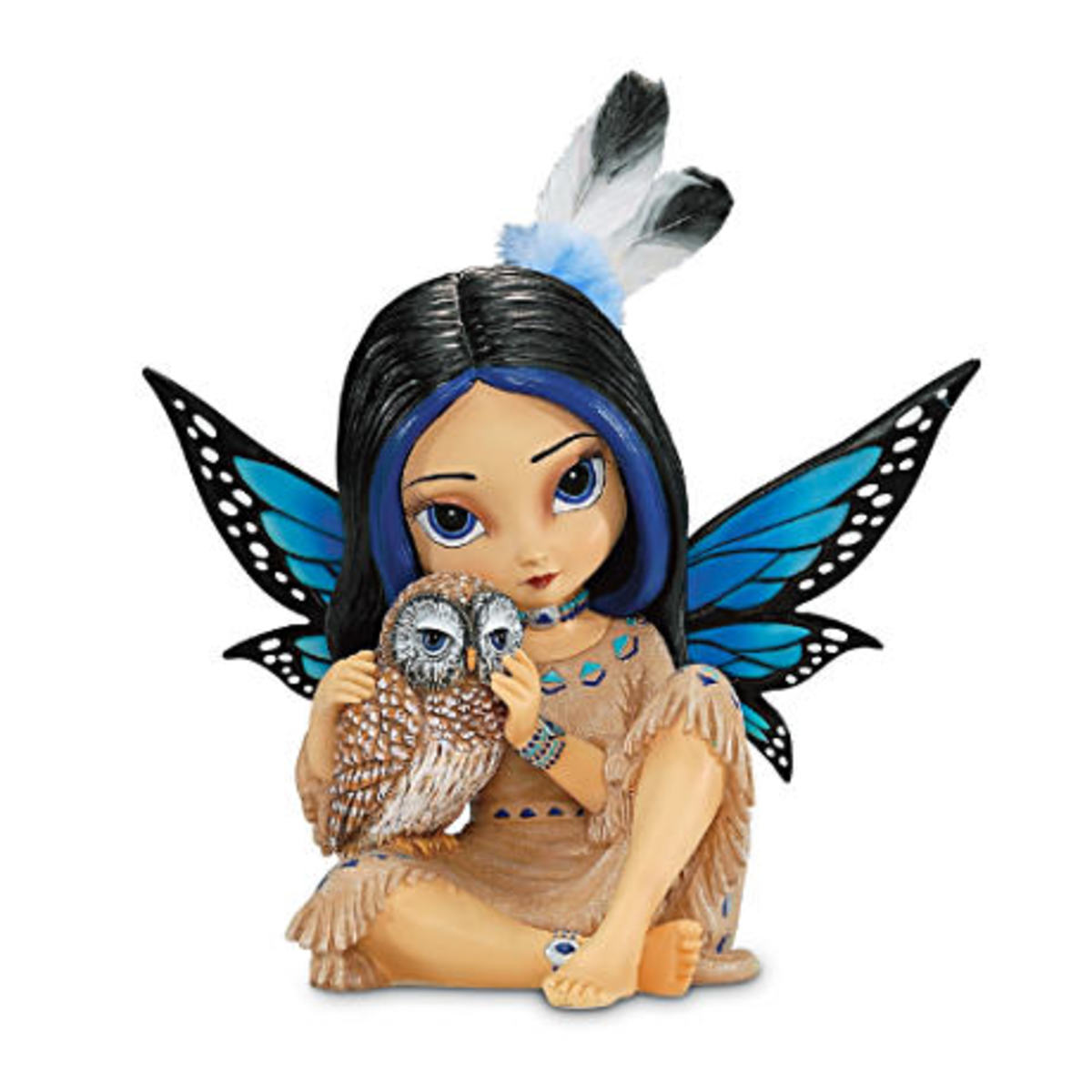 Native American Fairy figurine by Jasmine Becket-Griffith