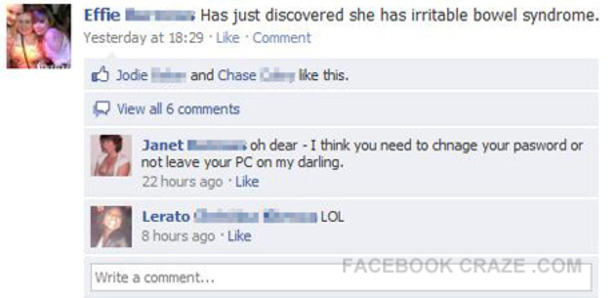 How To Stop Yourself Getting Fraped On Facebook