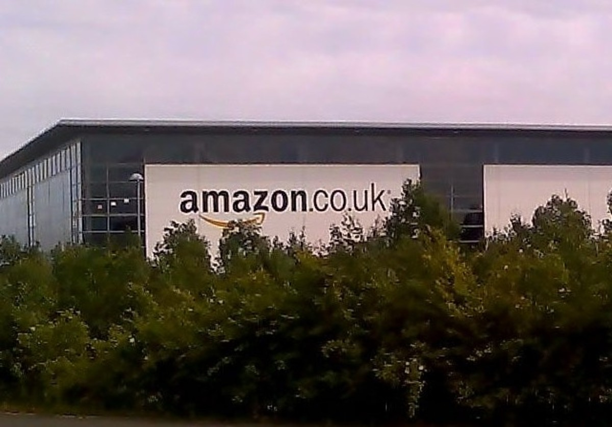 An Amazon.co.uk facility.