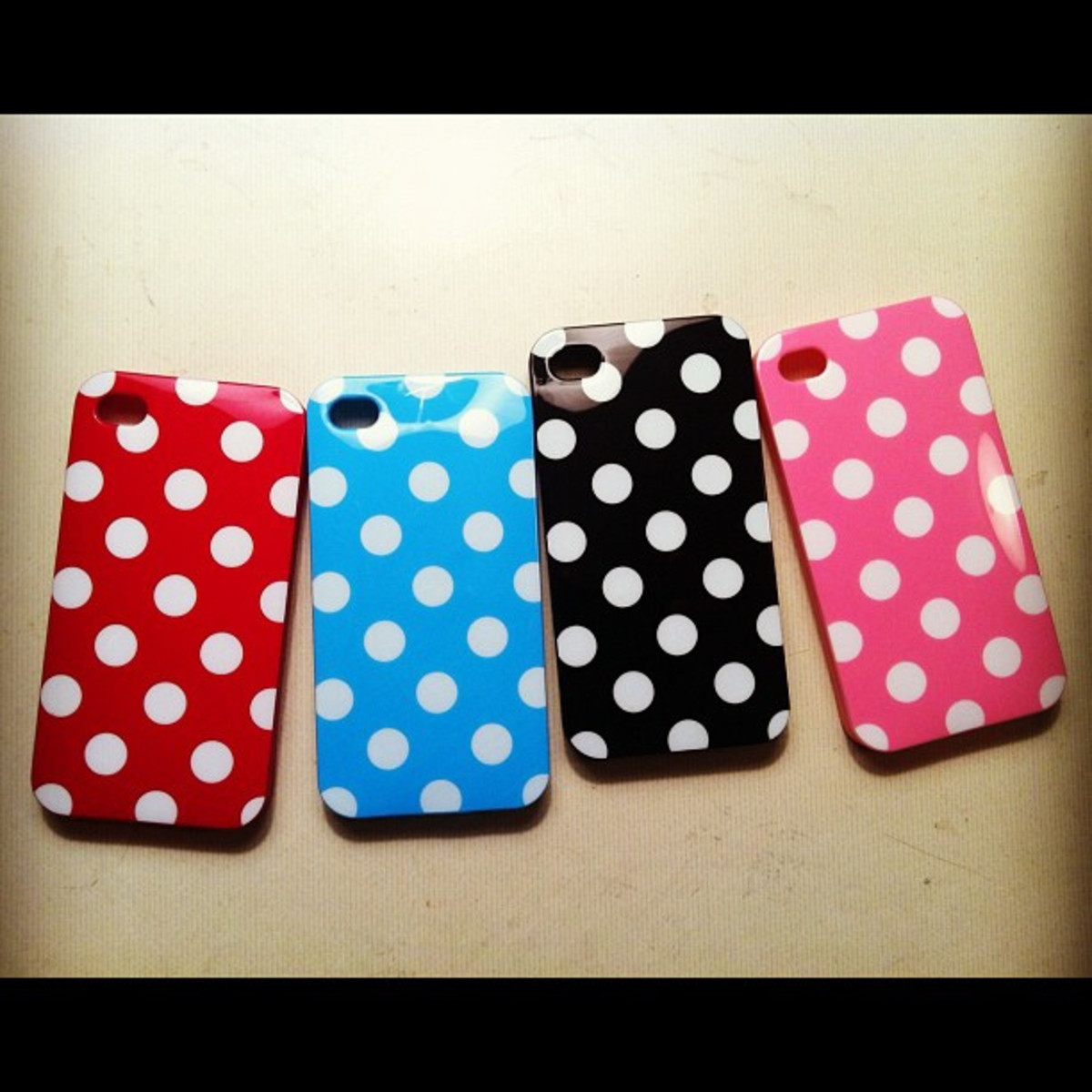 Cute cases for phones are always a hit!