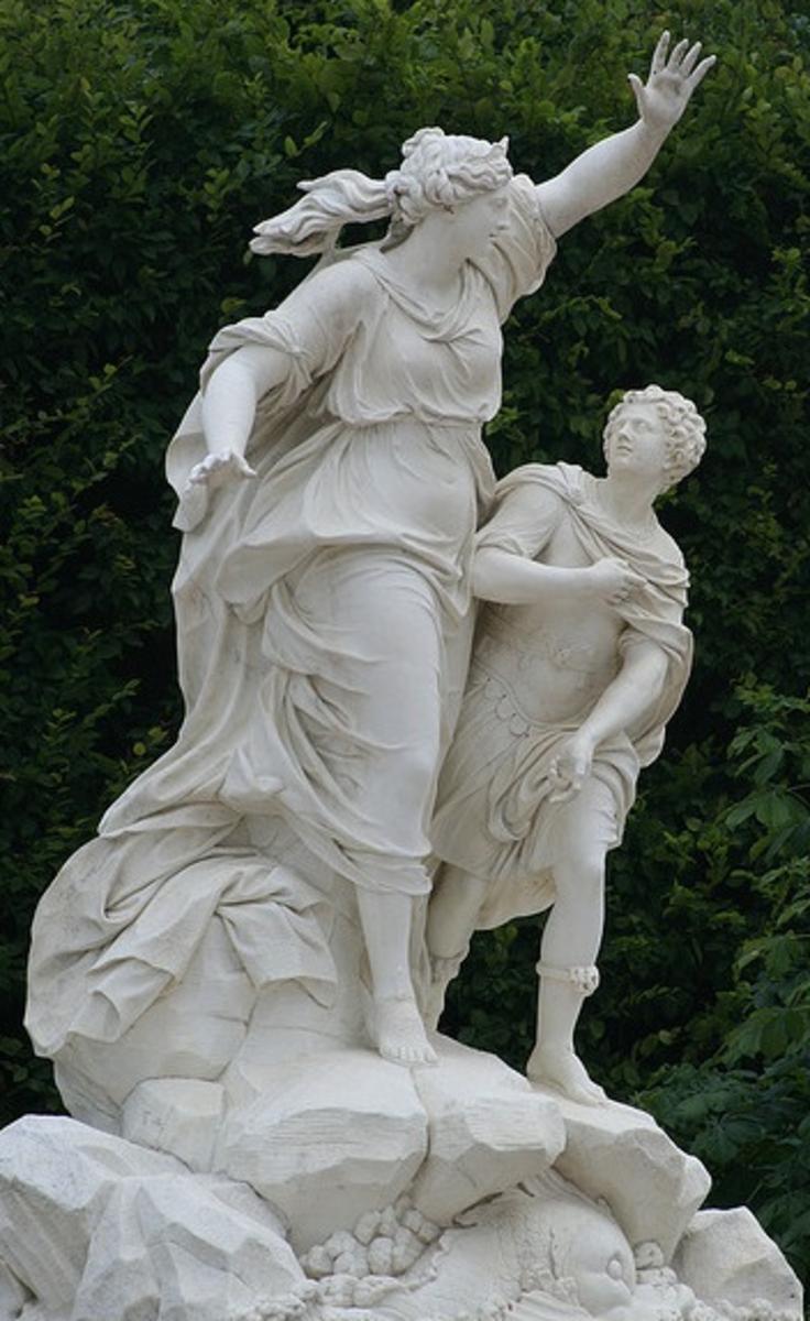 Leucothea and Palaemon