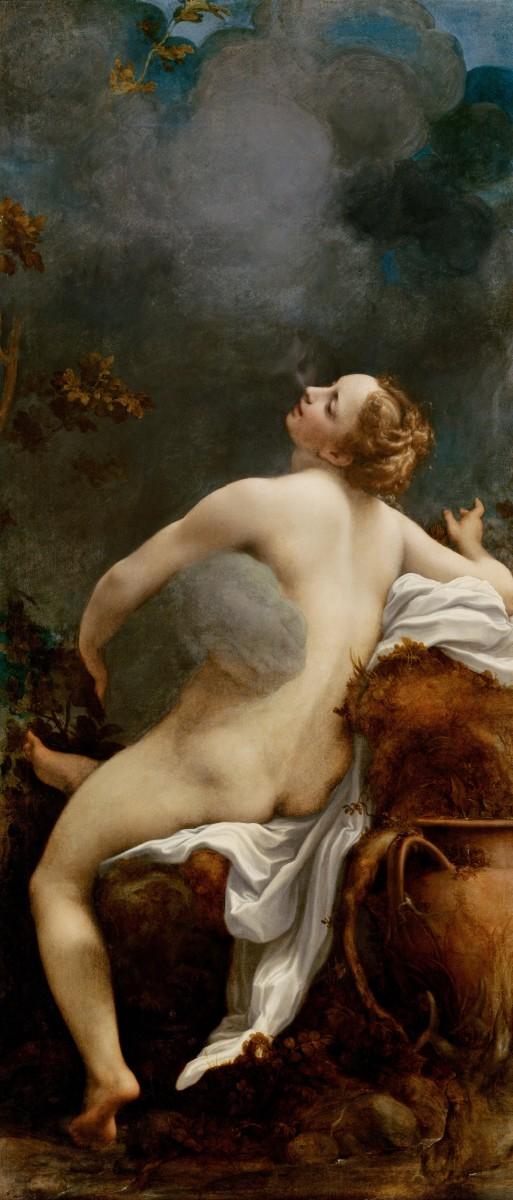 Zeus seducing Io