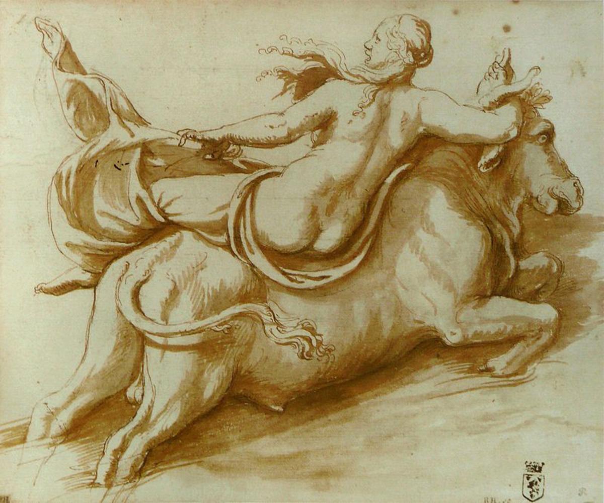 Europa and Zeus