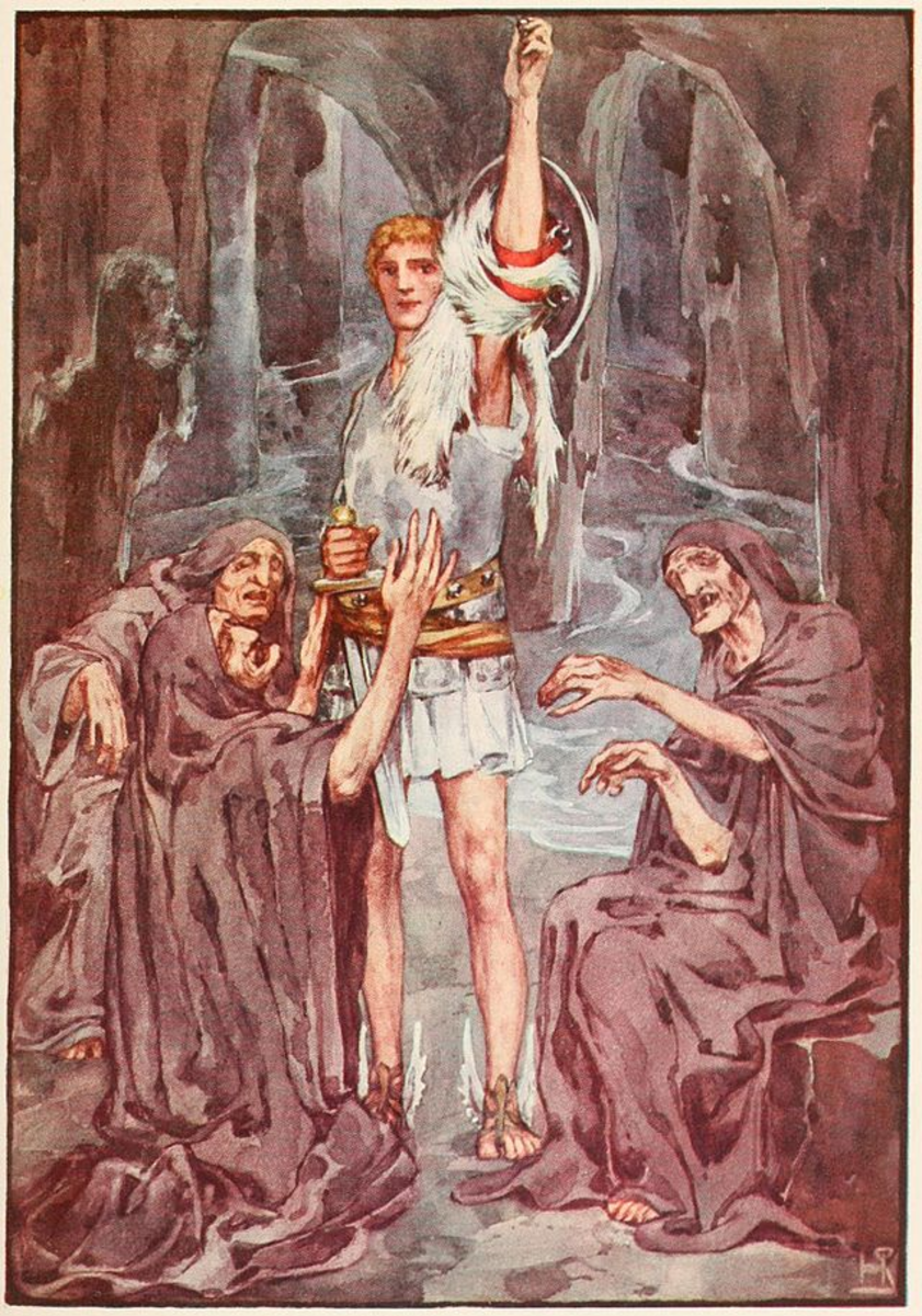 Perseus and the Graeae Sisters