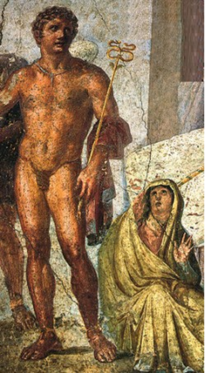 Hermes and Nephele