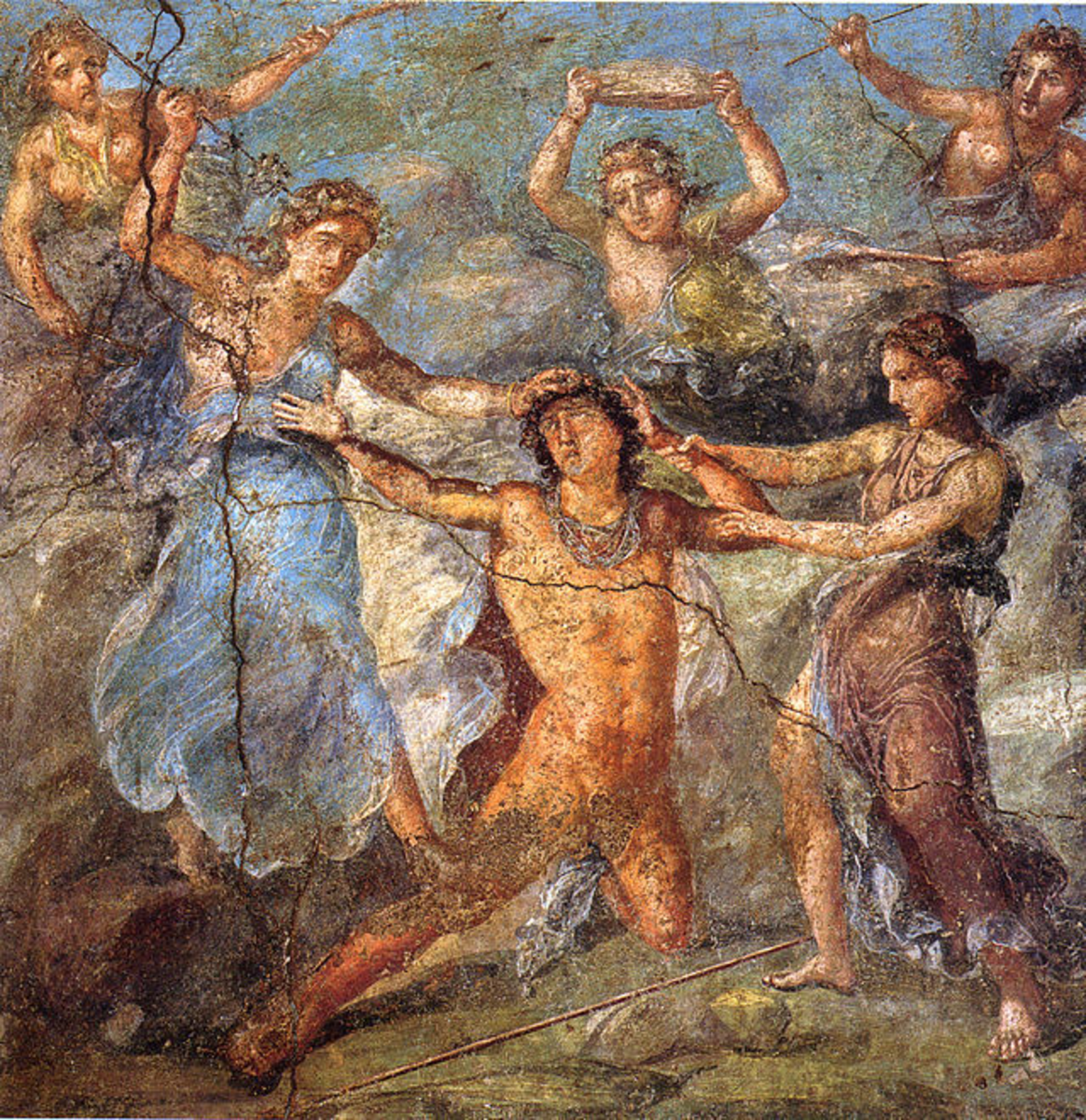 Pentheus and the Maenads